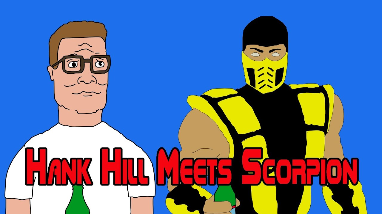 Hank Hill Characters Hank Hill Meets Scorpion