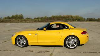 New BMW Z4 sDrive 35is (E89) - Roof in operation