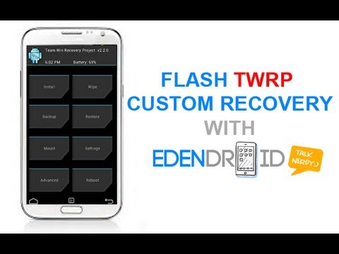 Install TWRP on Galaxy Note 2 II N7100 using ODIN