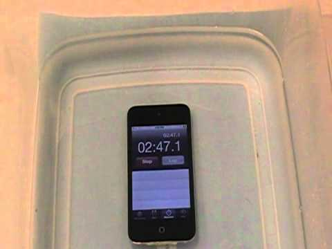 Waterproof your iPod Touch @ Home