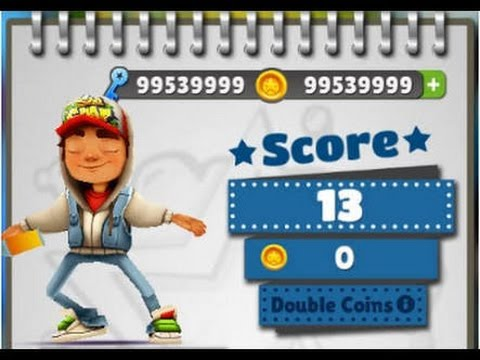 Unlimited Coins And Keys For Subway Surfer