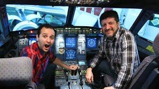 Por dentro da cabine de um avião ft. LITO AVIÕES E MÚSICAS 🔵Manual do Mundo