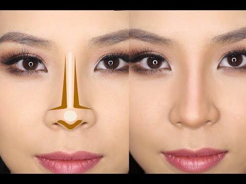 How to Contour Your Nose for Beginners | Tina Yong - YouTube