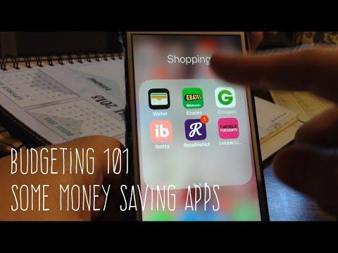 Budgeting 101 Some Money Saving Apps