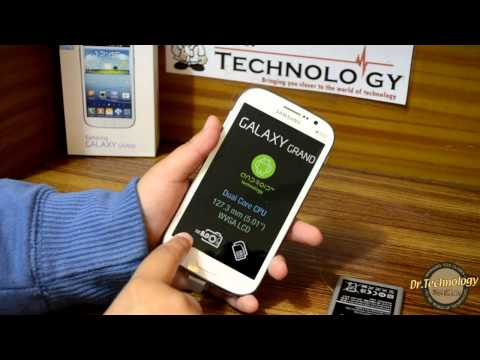 Samsung Galaxy Grand - Unboxing & Quick Look