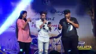 Thaman peforms at the celebration by RYA Madras Metro Trust
