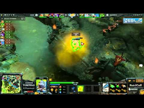 The Alliance vs iNfernity Game 1    RaidCall EMS One Summer Cup #4   TobiWan