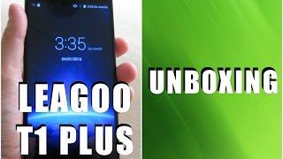 Leagoo T1 Plus - Unboxing (Português)
