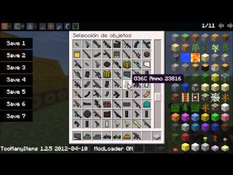 [1.2.5] Minecraft Mods de armas de MW3.aviones etc...