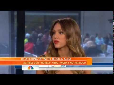 Jessica Alba talks living an 'Honest Life'