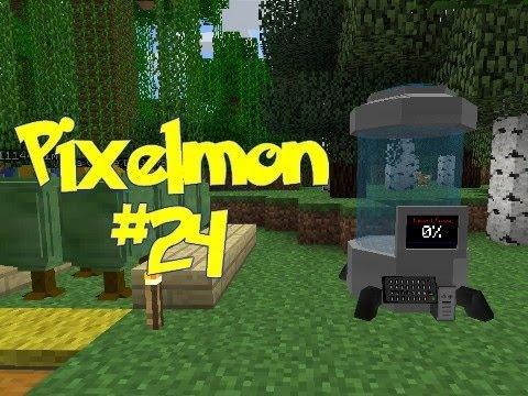 Minecraft: Pixelmon - Episode 24 - FOSSIL MACHINE!! (Pokemon Mod)