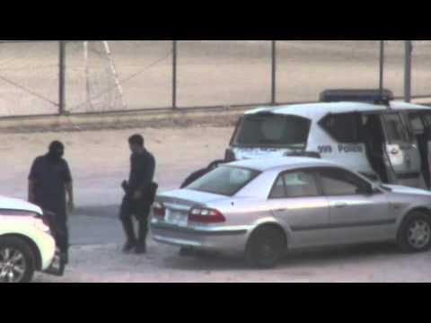 الهملة   مرتزقة النظام تعتدي على أحدى السيارات وتمثل على انها من الثوار 23 6 2012