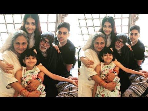 Aishwarya Rai  Bachchan celebrates 45 anniversary of Amitabh Bachchan and Jaya Bachchan