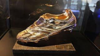"""أبرزهم ميسي ورونالدو.. تعرف على أبرز المتوجين بجائزة """"الحذاء الذهبي"""""""