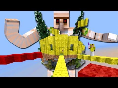 ЖЁЛТАЯ КОМАНДА ПОСТРОИЛА МОЩНЫЙ ФОРТ! ЖЕЛЕЗНЫЙ ГОЛЕМ ЧИТЕР! - (Minecraft Bed Wars)