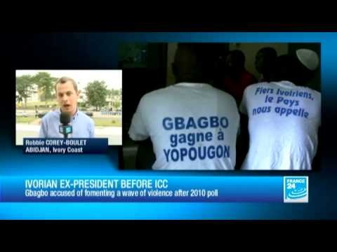Ivory Coast - Gbagbo faces ICC over election violence