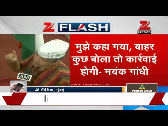 AAP's Mayank Gandhi breaks silence, reveals meeting details