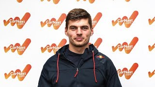Quick-fire questions with Max Verstappen