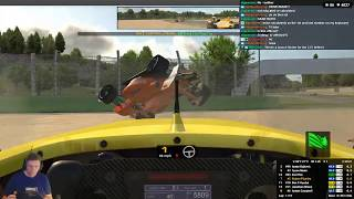First Ever Race in the Formula Renault 3.5