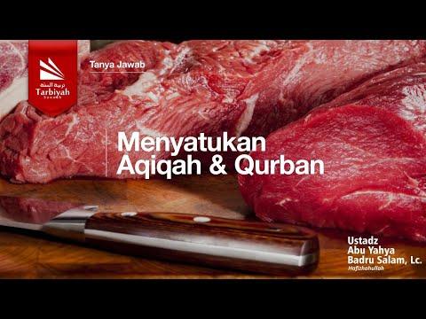 Soal Jawab | Menyatukan Aqiqah & Qurban - Ustadz Badrusalam, Lc.