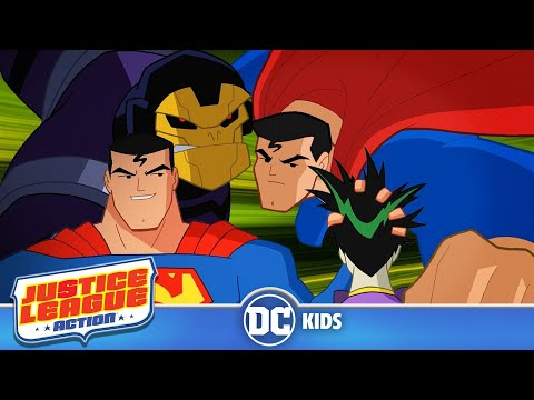 Justice League Action | Superman Will Take It From Here, Officer | DC Kids