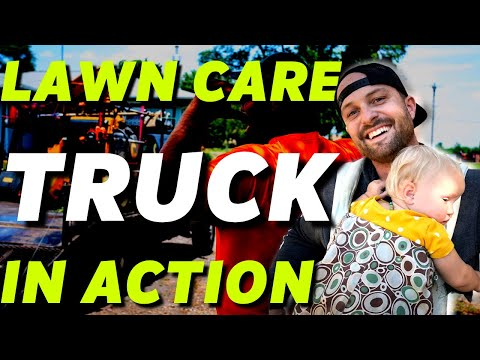 Mow Crew In Action | Best Lawn Care Truck
