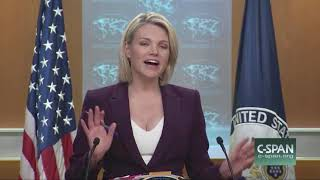 Nauert Hits Back at 'Snarky' Reporter Asking U.S. to Apologize for Iraq War