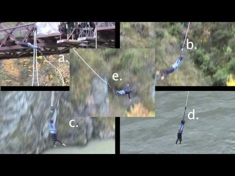 When Is A Bungee Jumper's Acceleration Max?