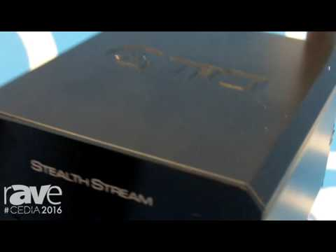 CEDIA 2016: TiO Introduces Stand-Alone StealthStream 100-Watt Amplifier Digital Streamer