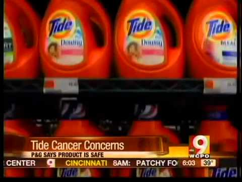 Could Tide detergent cause cancer?