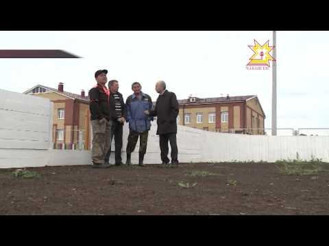 Жители деревни Шихабылово Урмарского района своими силами построили хоккейную коробку