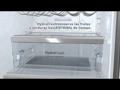 Frigorificos bosch | HydroFresh - ChillerSafe - HydroControl