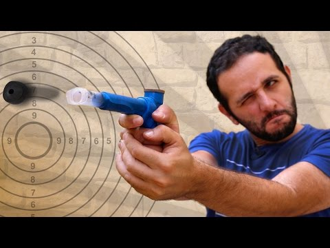 Pistola de seringa e isqueiro – superfácil!