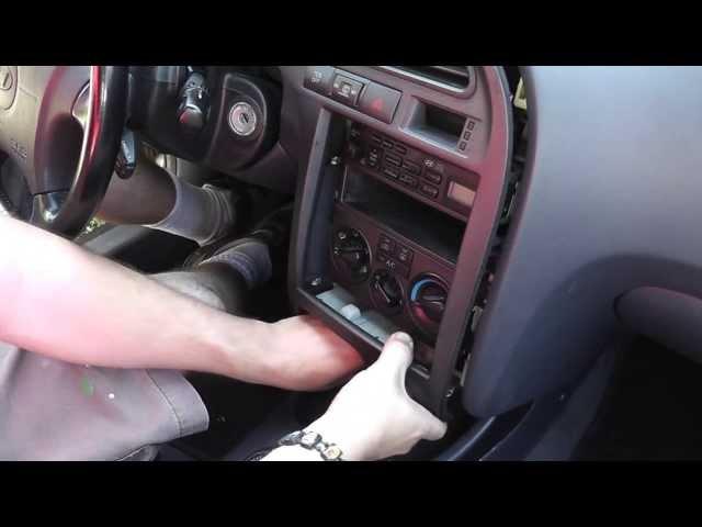 00-06 Hyundai Elantra Radio Removal and Installation DIY ...