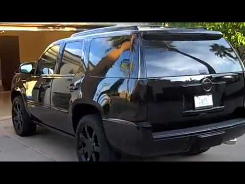 Blacked Out Escalade Youtube
