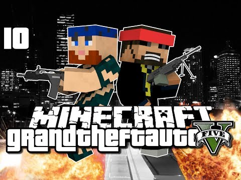 Minecraft Grand Theft Auto Mod 10 – NEW SERVER ADDITION (GTA 5)