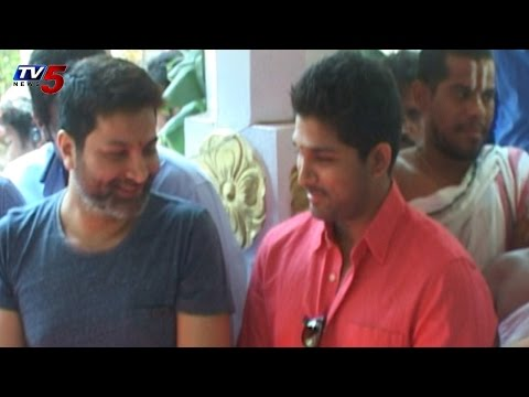 Trivikram,Allu Arjun Movie Opening Ceremony