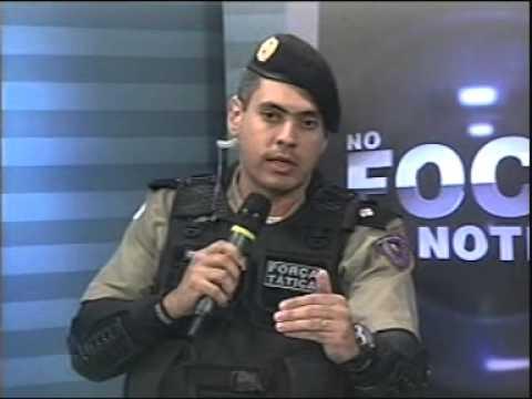 Tenente Lemos fala sobre a Força Tática