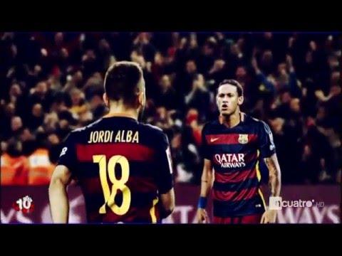 Neymar se encaró con Jordi Alba en el último partido del Barça   ¿Algún problema