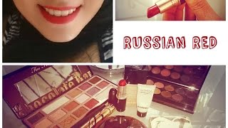 RUSSIAN RED MAKE UP TUTORIAL