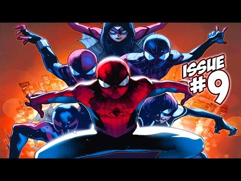 The Amazing Spider-Man Issue #9 (Spider-Verse Begins) Full Comic Review. Giveaway & WINNER!