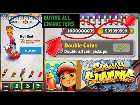 Subway Surfers Hack Buying All Characters Boards Cheats
