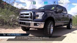 2015 Ford F-150 XLT SuperCrew 4WD Truck - Luxury Motorsports (14976)