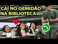 CAÍ NO GEMIDÃO DO ZAP NA BIBLIOTECA