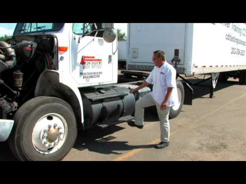 Pre tip vehicle inspection by Colorado Transportation School Part 1 of 2