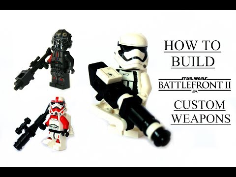 How to build Star Wars Battlefront 2 WEAPONS! 20 guns / LEGO Star Wars MOC/ LEGO gun tutorial