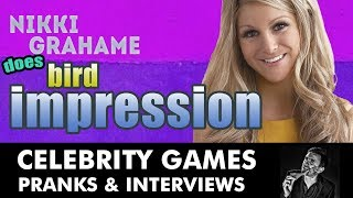Nikki Grahame Does Bird Impression On Red Carpet Funny By Kevin Durham