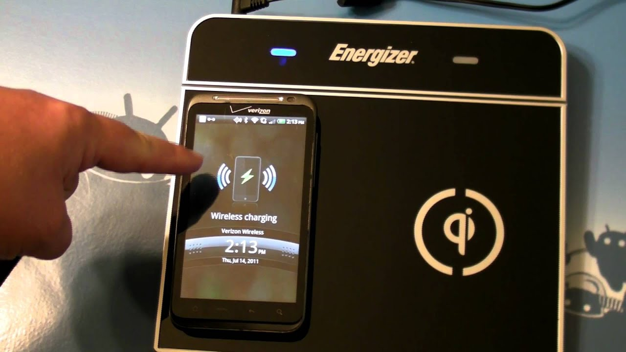 Inductive Charging Thunderbolt Inductive Charging With The