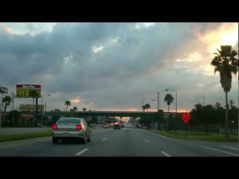 Driving down the 192 Kissimmee Florida