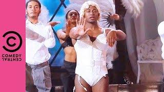 Taye Diggs Performs Madonna